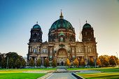 Berliner Dom Cathedral In The Morning