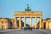 Brandenburg Gate In Berlin, Germany