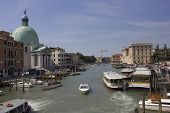 View Of Venice From Ponte Degli Scalzi