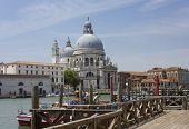 Venetian View, Facing Santa Maria Della Salute Church