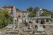 stock photo of northeast  - The ancient stadium Philipopolis in Plovdiv - JPG