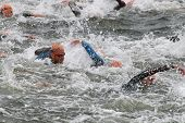 Triathlon, Chaos, Swimming, Men