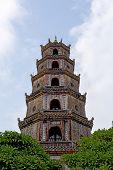 Thien Mu Pagoda In Hue City, Vietnam