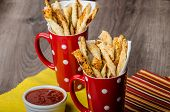 Party Sticks From Puff Pastry