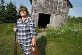 Redneck Woman With Gun