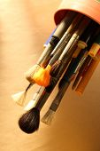 Paintbrushes And Pens