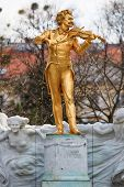 Johann Strauss Status, Vienna Stadtpark, Austria