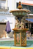 Spanish Ornate Fountain