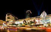 BANGKOK - 22 DECEMBER: Night illumination of Bangkok, the capital of the Kingdom of Thailand on the