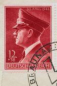 Vintage Nazi Stamp
