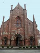 Frontal View Of St. Magnus Cathedral