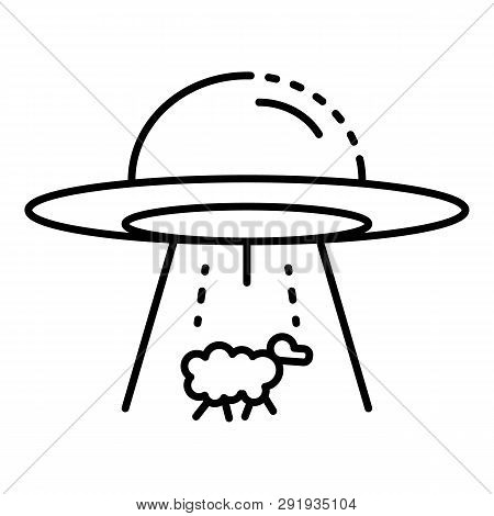 Ufo Take A Sheep Icon