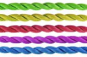 Colorful  Of Cotton Craft Thread