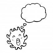 microscopic creature cartoon