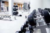 Fitness Club Gewicht Training Ausrüstung Gym modernes Interieur