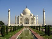 taj mahal india. ultimate symbol of