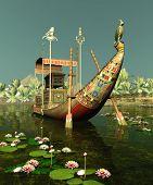 Egyptian Barge