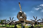 HDR.Bear. TU-95. Soviet strategic bomber