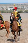 Hussar. Kiev's Hussar Regiment. Crimean War time