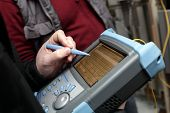Adjusting Of Reflectometer