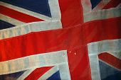 British Flag of Crimean War time