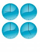Clockfaces (Vector)