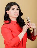 Professional Eyelash Extension Tweezer. Girl Makeup Face Hold Tweezers For Eyelash Extension. Classi poster