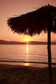 Parasol Sunset, Skiathos