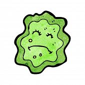 foto of amoeba  - cartoon germ - JPG