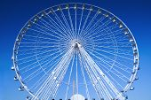 stock photo of ferris-wheel  - Fairground attraction in Paris - JPG