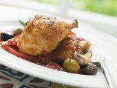 Chicken Chilindron- Pollo Al Chilindron