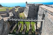 Castelo de San Pedro de la Roca del Morro perto de Santiago de Cuba, Cuba