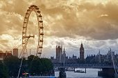 London Under A Moody Sky