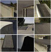 Skate Park Collage