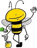 honey selling bee