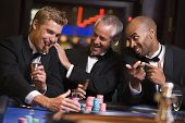 Men Playing Roulette