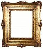Picture Frame Gold (path Included)