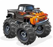 Cartoon Monstertruck
