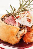 pic of beef wellington  - Fillet Wellington with fresh herbs - JPG