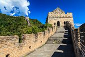 Tower On The Great Wall Of China