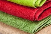 color towels