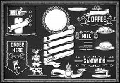 Vintage Graphic Element For Bar Menu