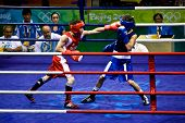 Olympic Boxer Lands A Punch