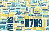 picture of avian flu  - H7N9 Concept as a Medical Research Topic - JPG
