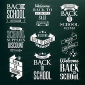 Back to School Calligraphic Design
