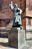 Statue of Martin Luther in Hanover, Germany