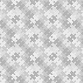 Puzzle pattern background, seamless swatch included