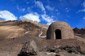 refugio de monta�a en Las Cuevas,argentina