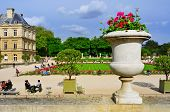 PARIS, FRANCE- MAY 15: View of Jardin du Luxembourg on May 15, 2013 in Paris, France. With 224,500 s