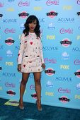 LOS ANGELES - AUG 11:  Kerry Washington at the 2013 Teen Choice Awards at the Gibson Ampitheater Uni
